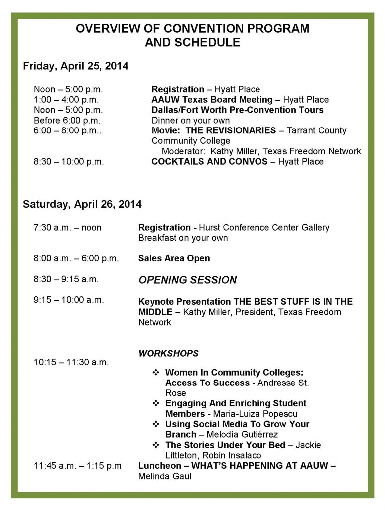 OverviewConventionSchedule_Page_1