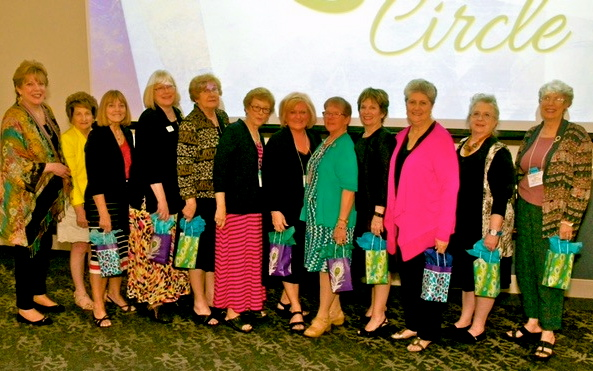 AAUW Texas Legacy Circle members
